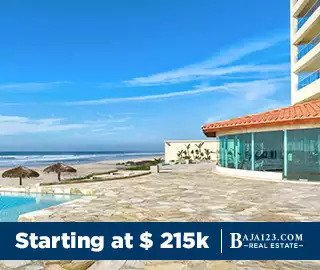 Las Olas Mar y Sol Rosarito Beach Oceanfront Development