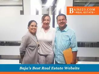 Happy buyers in costa bella Rosarito