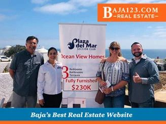 Great Open House with Darrell Graham's Happy Clients at Plaza del Mar in Rosarito Beach
