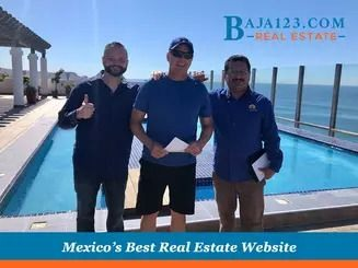 The sky (pool) is the limit for our clients at Baja123.com