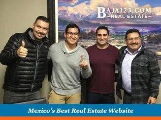 Our senior agent Gerardo Oceguera with Oscar Mendez closing in Villas de Rosarito