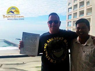 Gratified Client at the Rosarito Beach Condo-Hotel