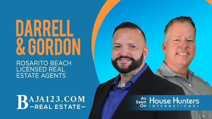 Darrell & Gordon Rosarito Beach Real Estate Agents