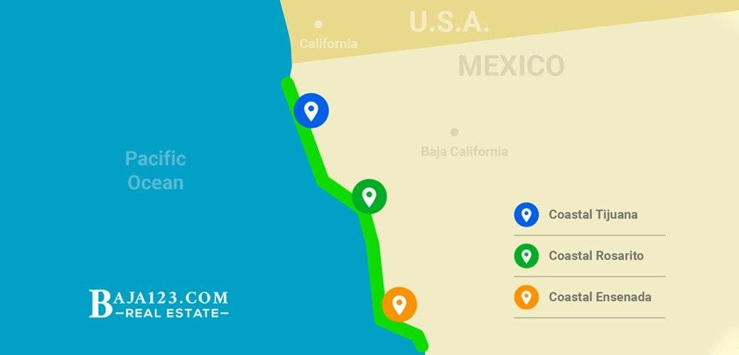 Baja123.com Rosarito Top Selling Areas