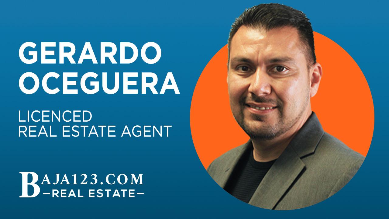 Gerardo Oceguera Licensed Real Estate Agent Rosarito