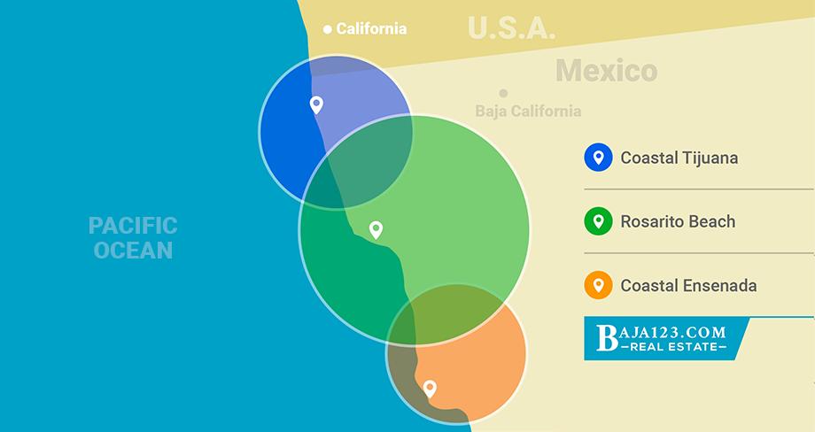 Baja123.com Top Selling Areas